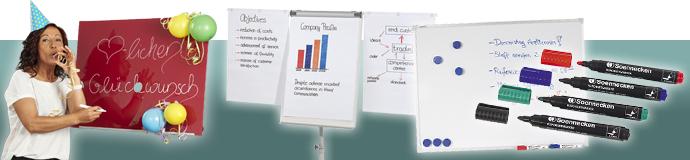 Präsentation und Planung