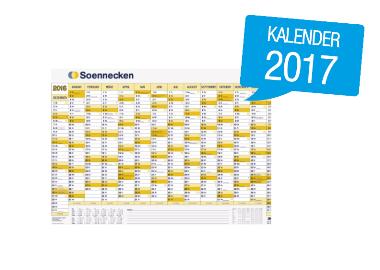 Soennecken Plakatkalender 2017