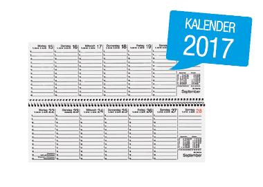 Soennecken Schreibtischquerkalender 2017