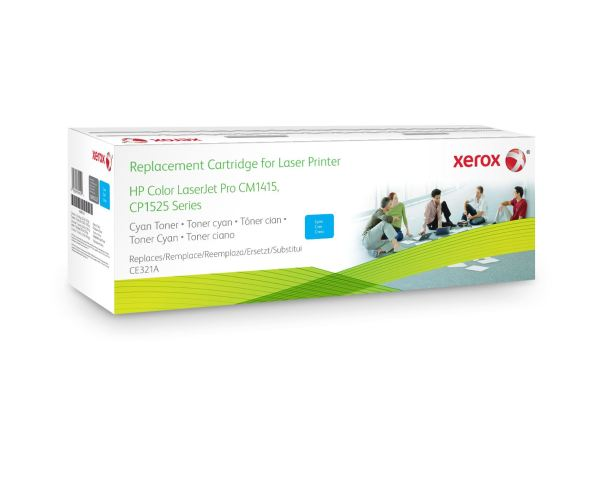 XEROX Toner cyan HP CE321A