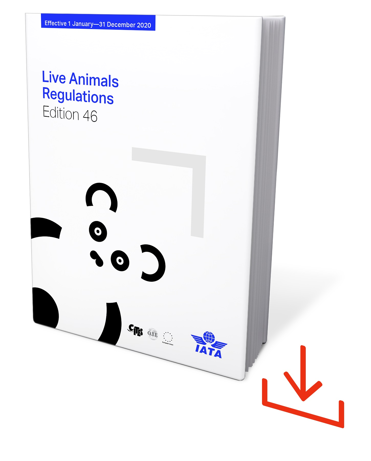 IATA Live Animal Regulations 2020, 46. Edition, Web-Download, englisch @DRB227LAR-46WD