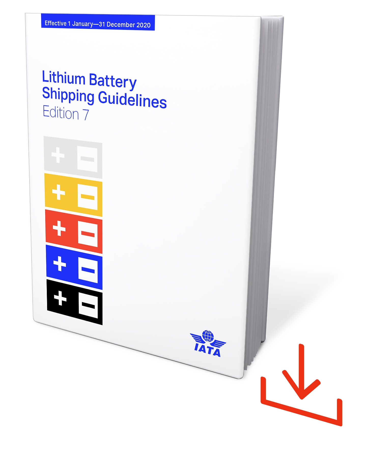 IATA Lithium Battery Shipping Guidelines 2020, 7. Edition, Web-Download, englisch @DRB227LBSG-7WD