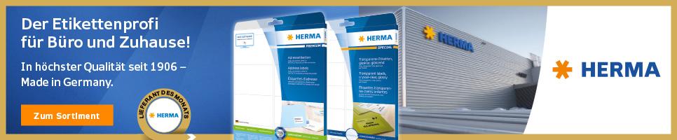 Herma - Testen Sie die Besten!